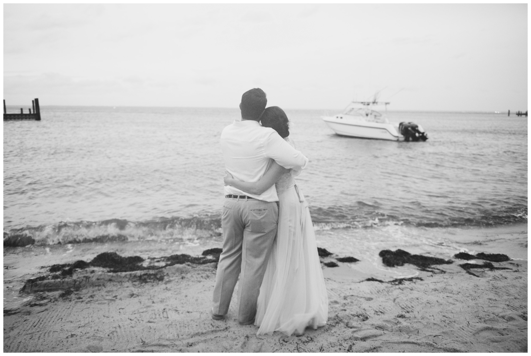 Schooners fire island wedding