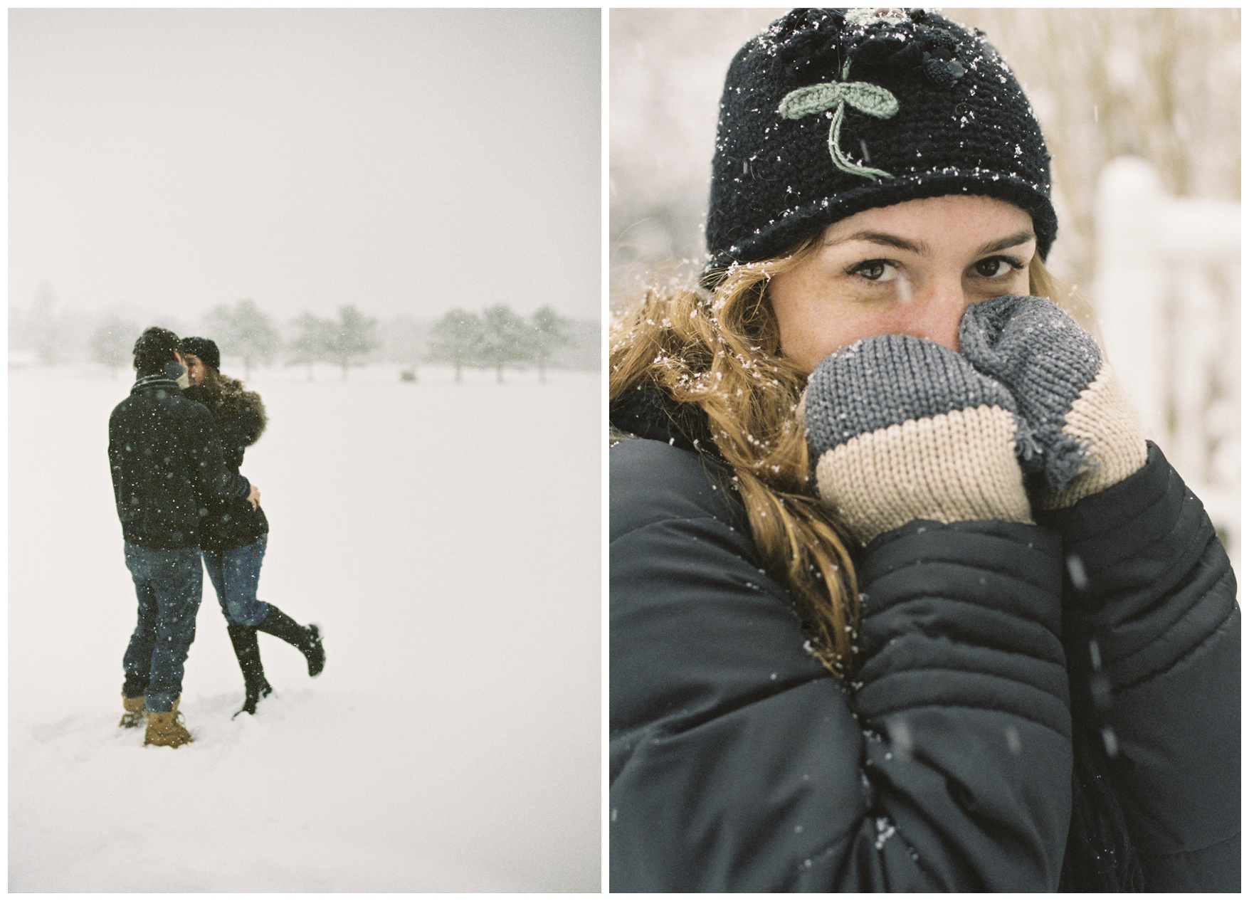 Winter Couple Portraits